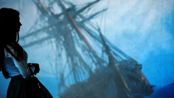 Открытие выставки Айвазовский и маринисты. Живые полотна