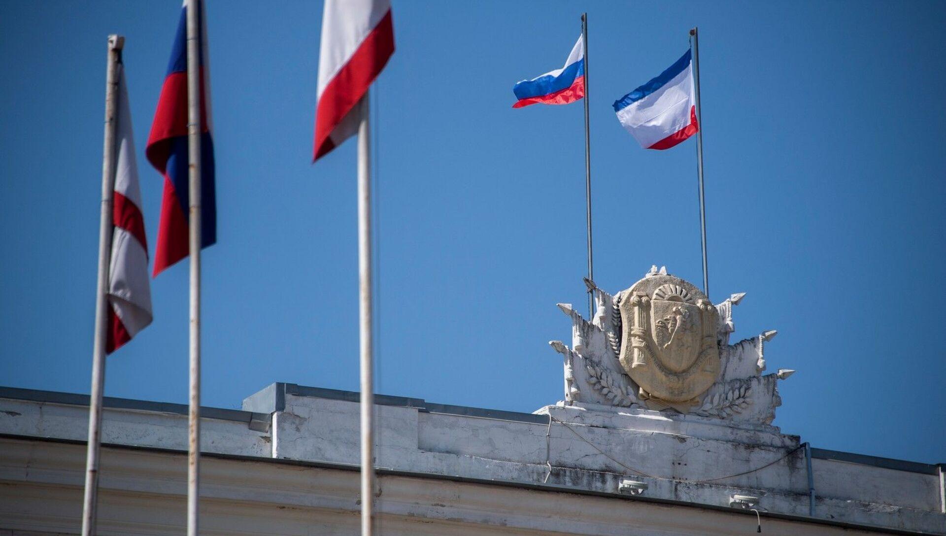 Здание Совета Министров республики Крым - РИА Новости, 1920, 30.06.2021