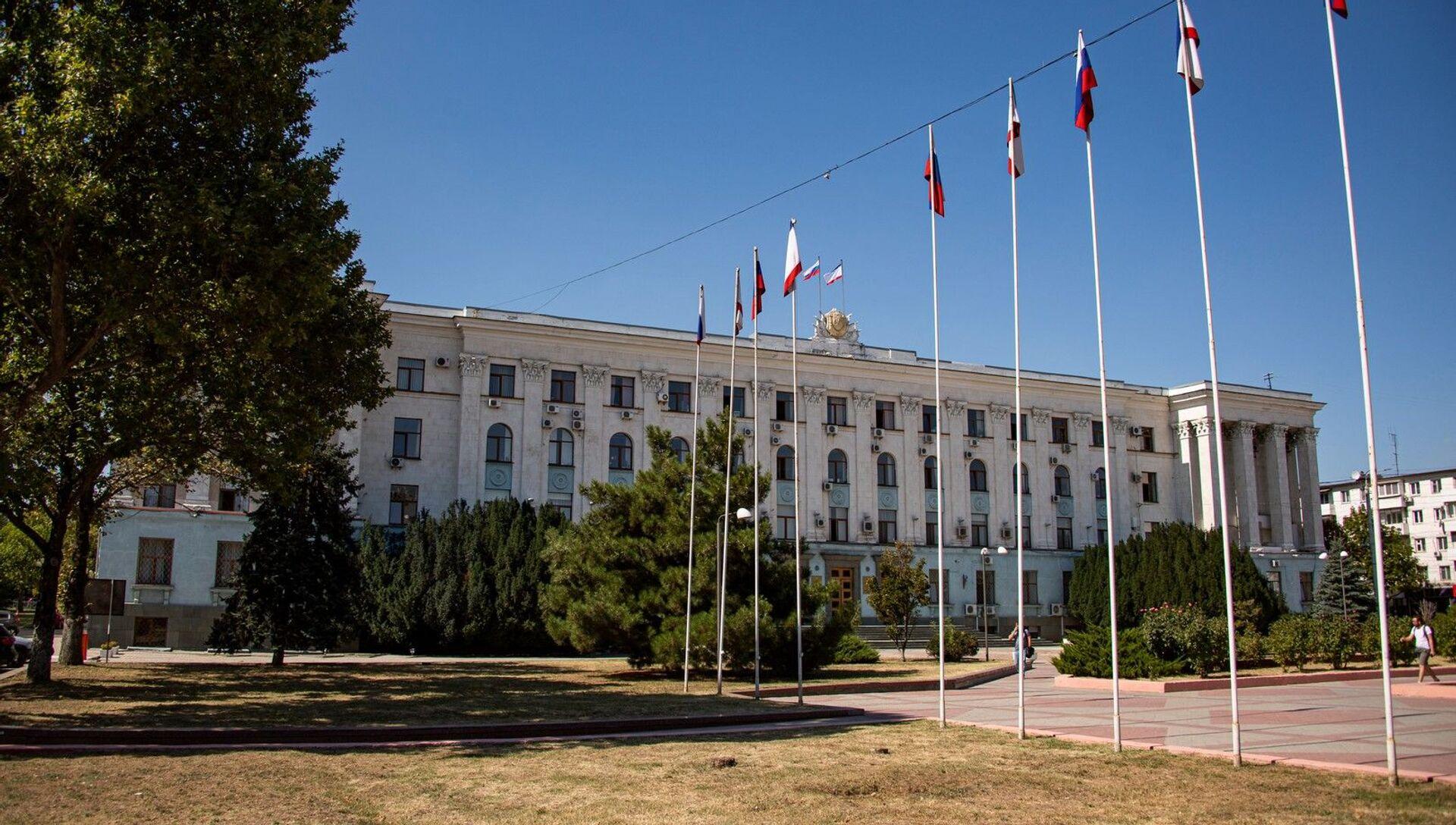 Здание Совета Министров республики Крым - РИА Новости, 1920, 20.10.2020