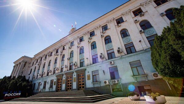 Здание Совета Министров республики Крымм
