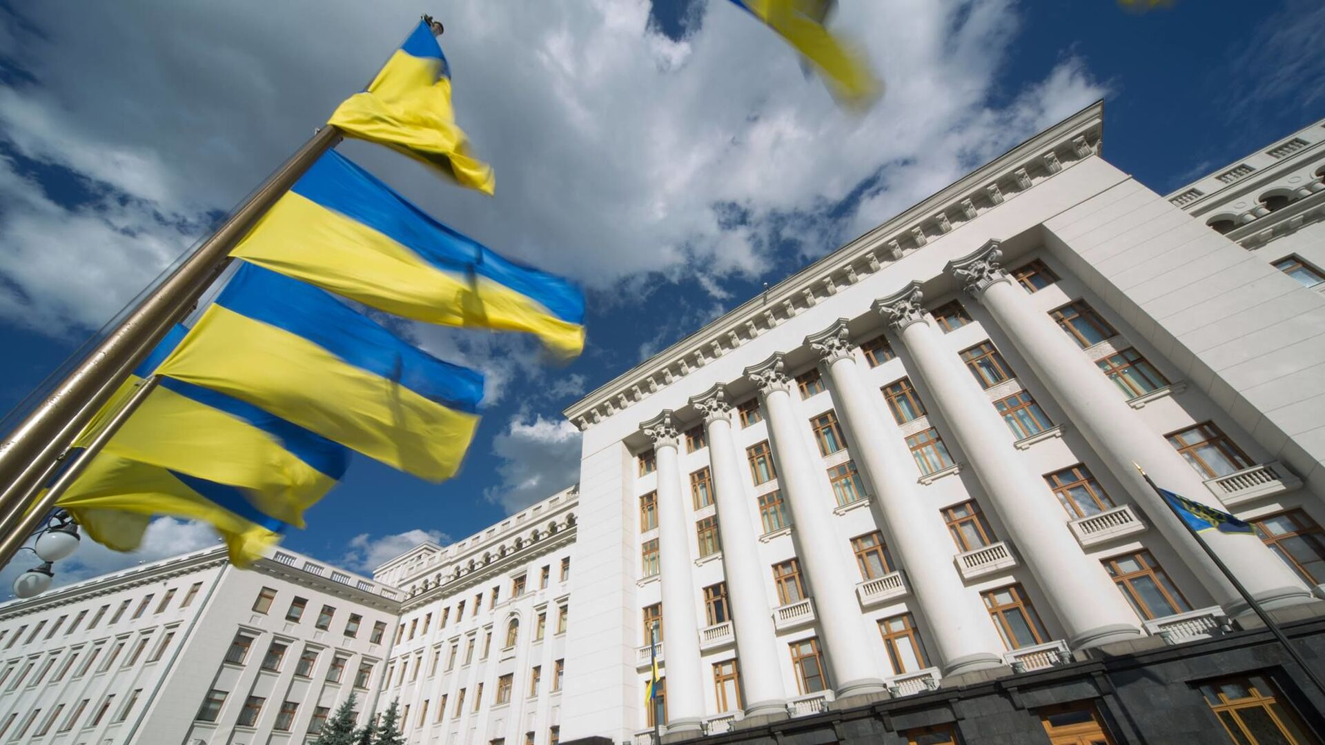 Офис президента Украины в Киеве - РИА Новости, 1920, 23.05.2021