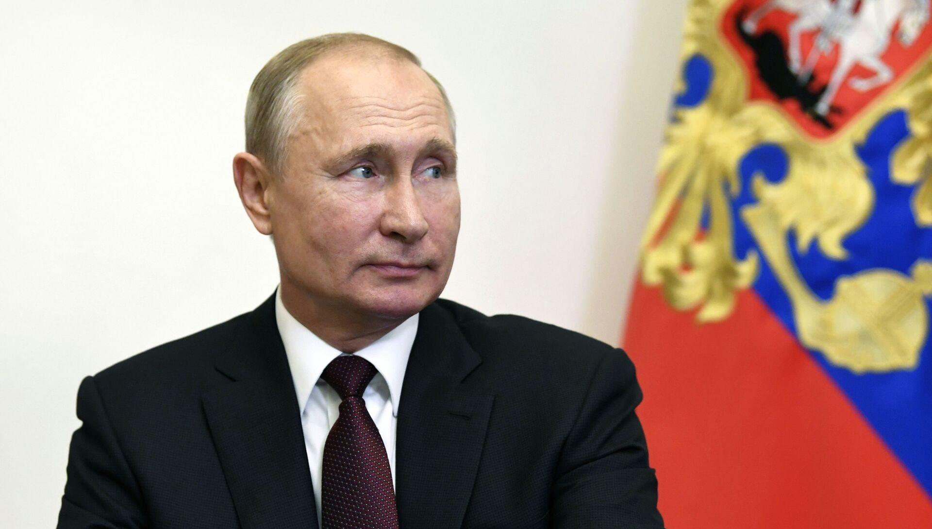 Президент РФ В. Путин провел заседание Совбеза РФ - РИА Новости, 1920, 09.09.2020