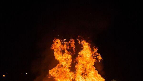 Празднование Ночи святого Хуана в Испании