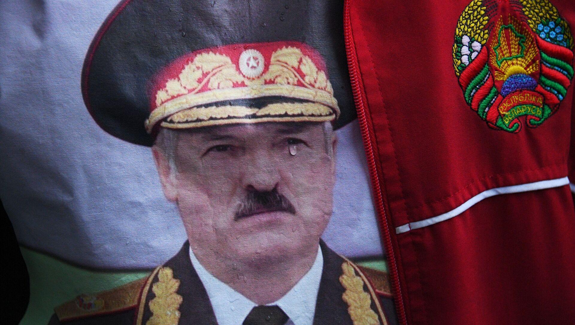 Акция в поддержку А. Лукашенко в Минске - РИА Новости, 1920, 03.11.2020