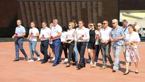 Шеф-редактор Спутника в Крыму приняла участие в Диктанте Победы