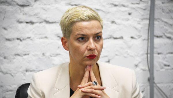 Пресс-конференция Координационного совета оппозиции в Минске