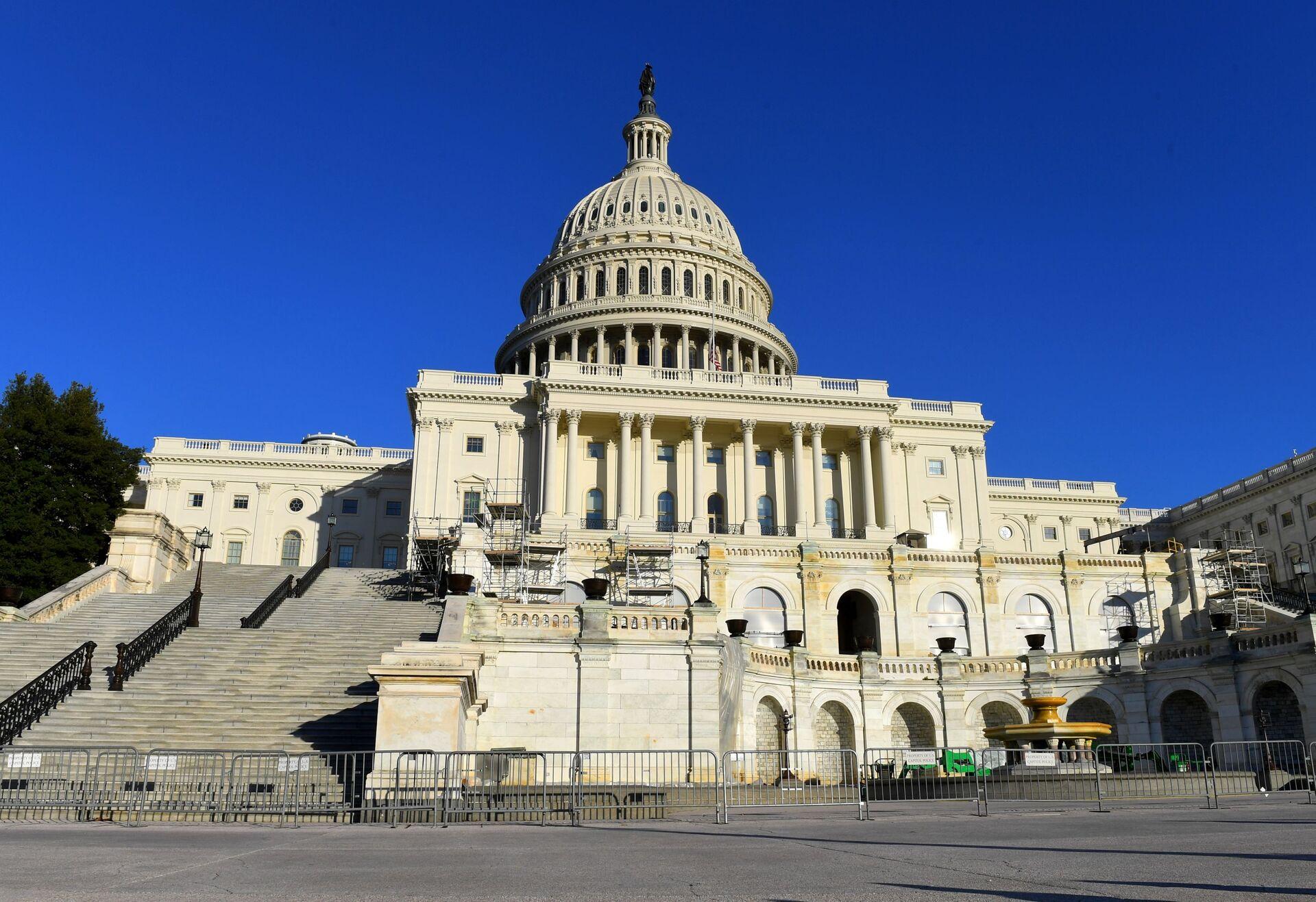 Капитолий (United States Capitol) на Капитолийском холме в Вашингтоне. - РИА Новости, 1920, 11.08.2021
