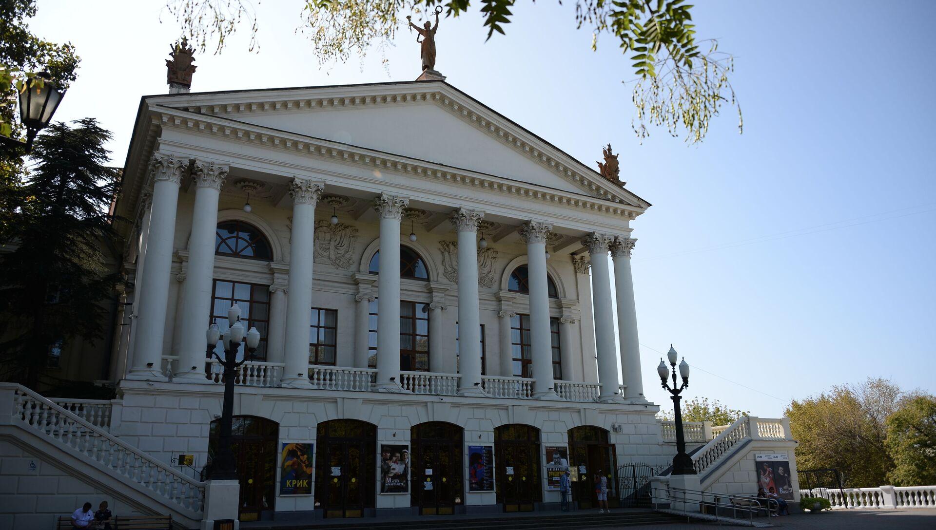Театр им. Луначарского. Севастополь - РИА Новости, 1920, 16.02.2021