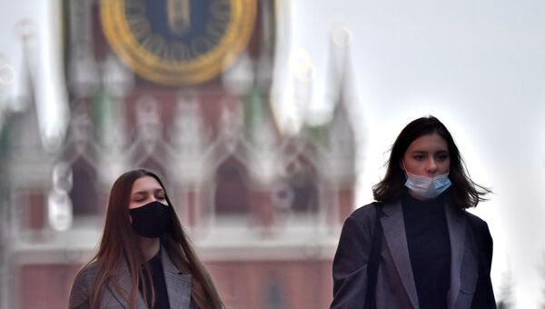 Москва в период коронавирусной инфекции