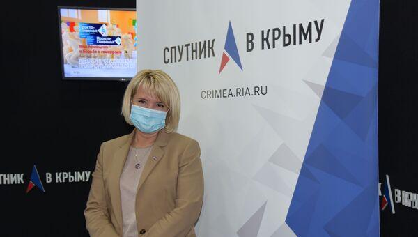 Руководитель межрегионального управления Роспотребнадзора по РК и Севастополю Наталья Пеньковская