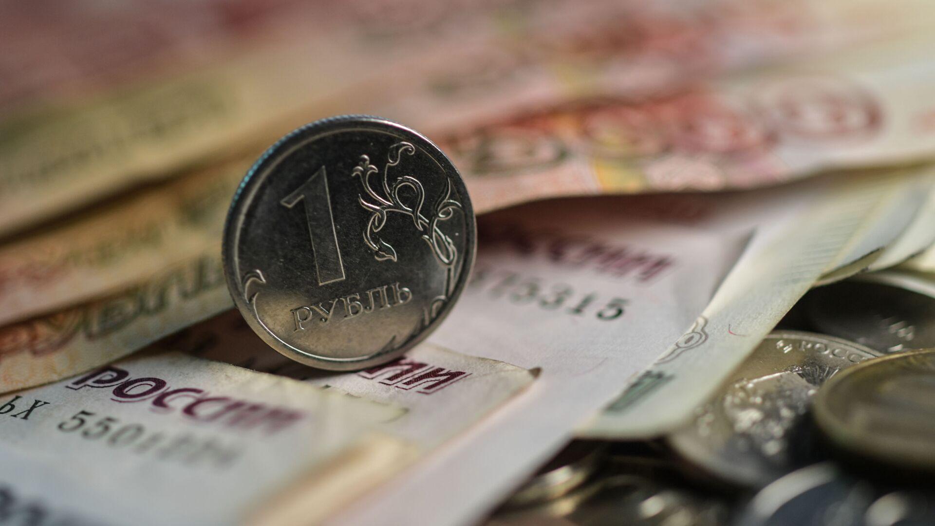 Денежные купюры и монеты - РИА Новости, 1920, 01.08.2021