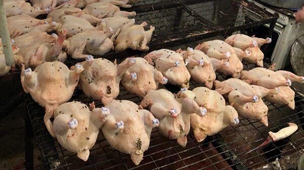 В Крыму сожгли тонну просроченных тушек кур и уток