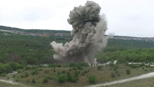 В Севастополе взорвали две авиационные бомбы времен Великой Отечественной войны