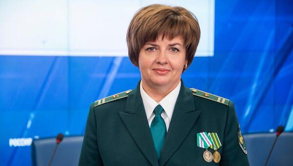 Заместитель начальника Крымской таможни, майор таможенной службы Татьяна Кравец