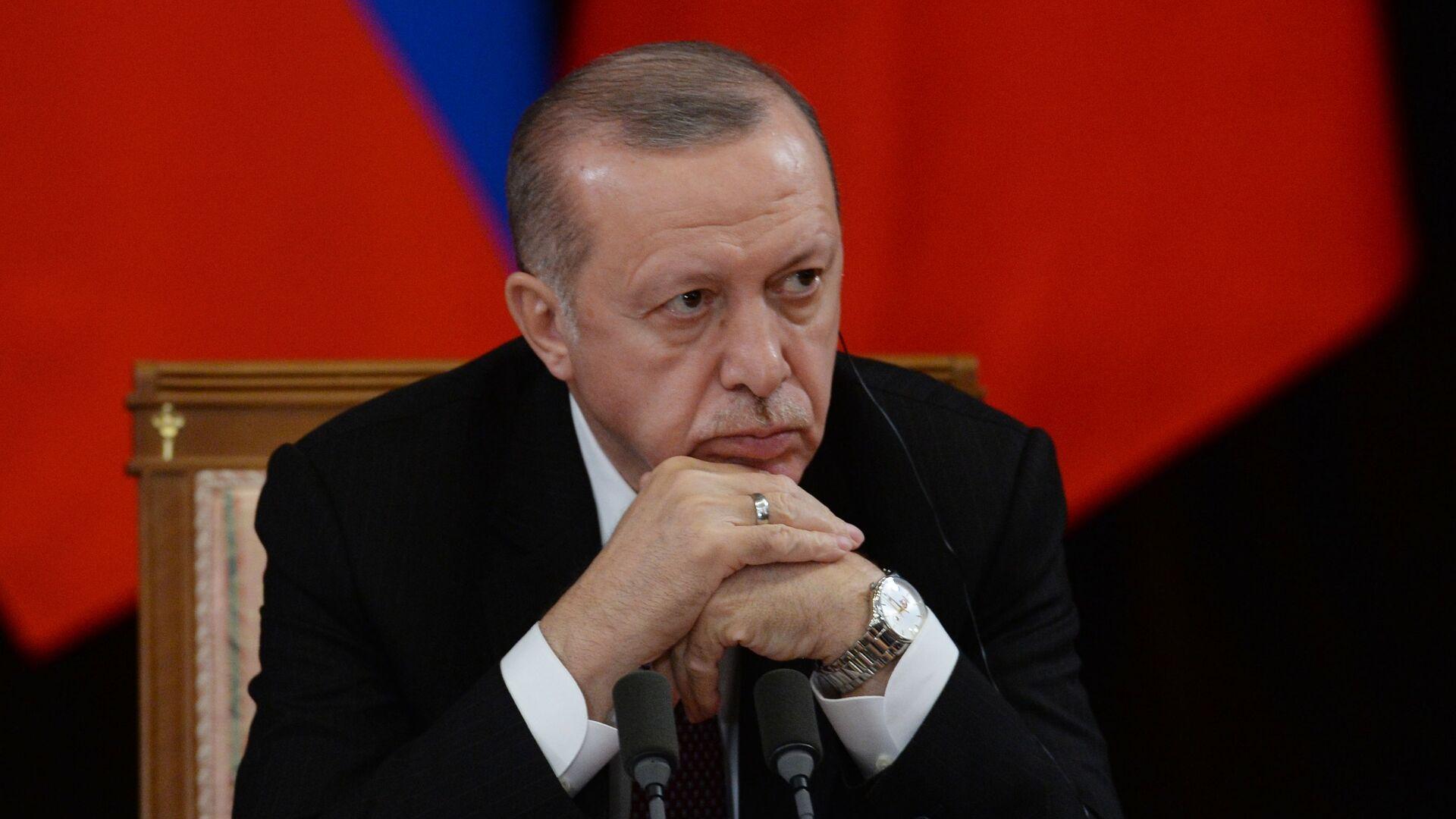 Президент Турецкой Республики Реджеп Тайип Эрдоган - РИА Новости, 1920, 09.11.2020