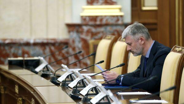 Министр транспорта РФ Евгений Дитрих. Архивное фото