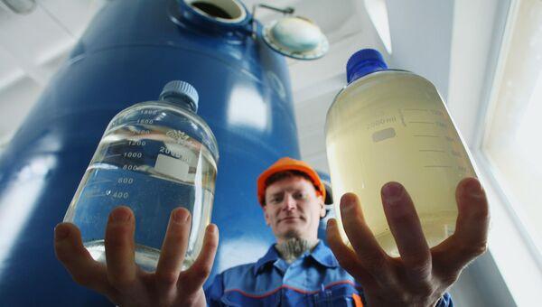 Открытие станции обезжелезивания воды в пригороде Калининграда