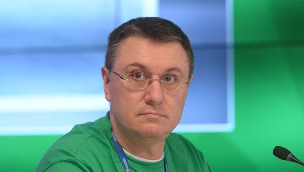 Руководитель редакции Р-Спорт МИА Россия сегодня Василий Конов