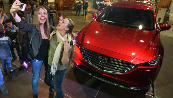 Запуск производства новой модели автомобиля Mazda CX-9 во Владивостоке