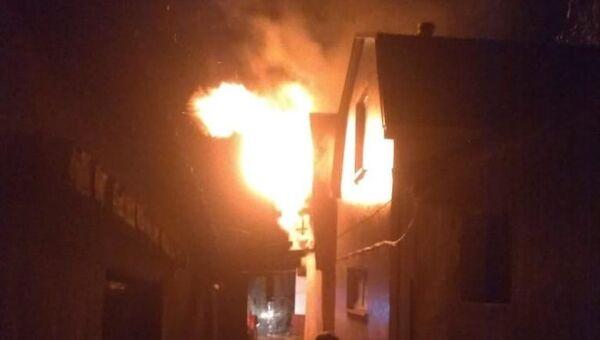 Пожар в Кизилташском монастыре
