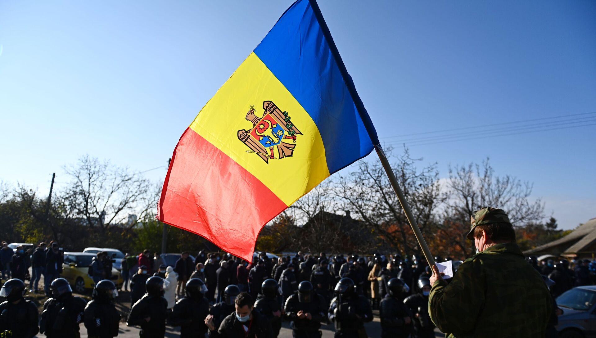 Второй тур выборов президента Молдавии - РИА Новости, 1920, 16.11.2020