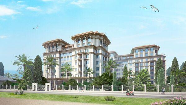 Проект апарт-отеля