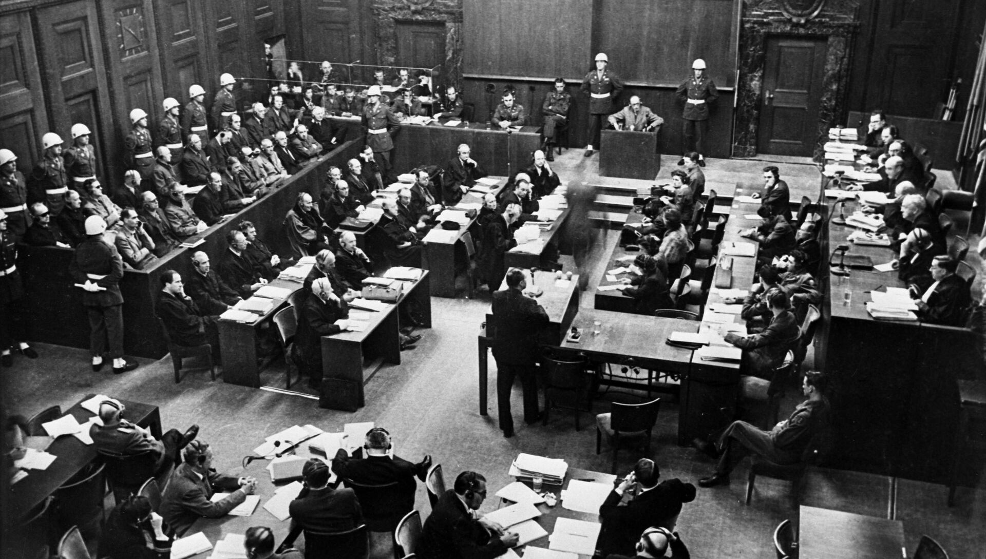 Нюрнбергский процесс. 20 ноября 1945 года — 1 октября 1946 года - РИА Новости, 1920, 20.11.2020