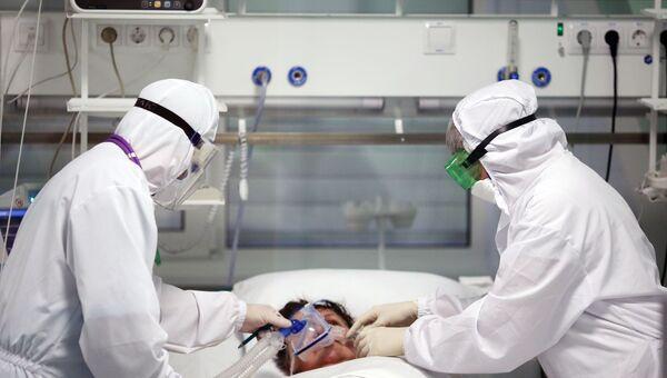 Современный инфекционный госпиталь. Архивное фото