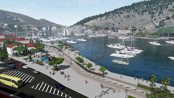 Парковку с площади планируется убрать, значительно сузив проезжую часть за счет расширения тротуара.