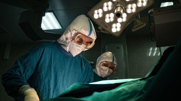 Госпиталь для больных COVID-19