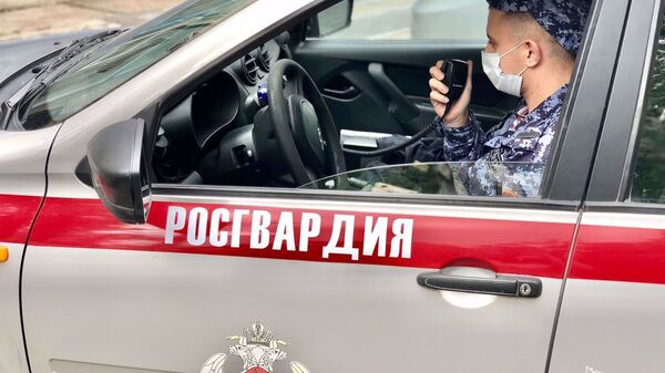 Автомобиль Росгвардии