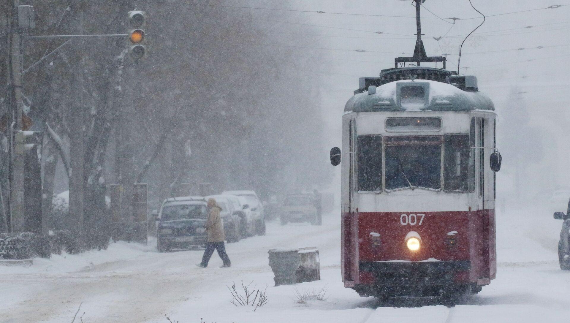 Снег в Крыму - РИА Новости, 1920, 11.01.2021