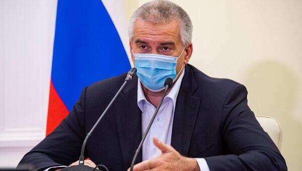 Глава РК Сергей Аксенов на итоговой пресс-конференции 2020