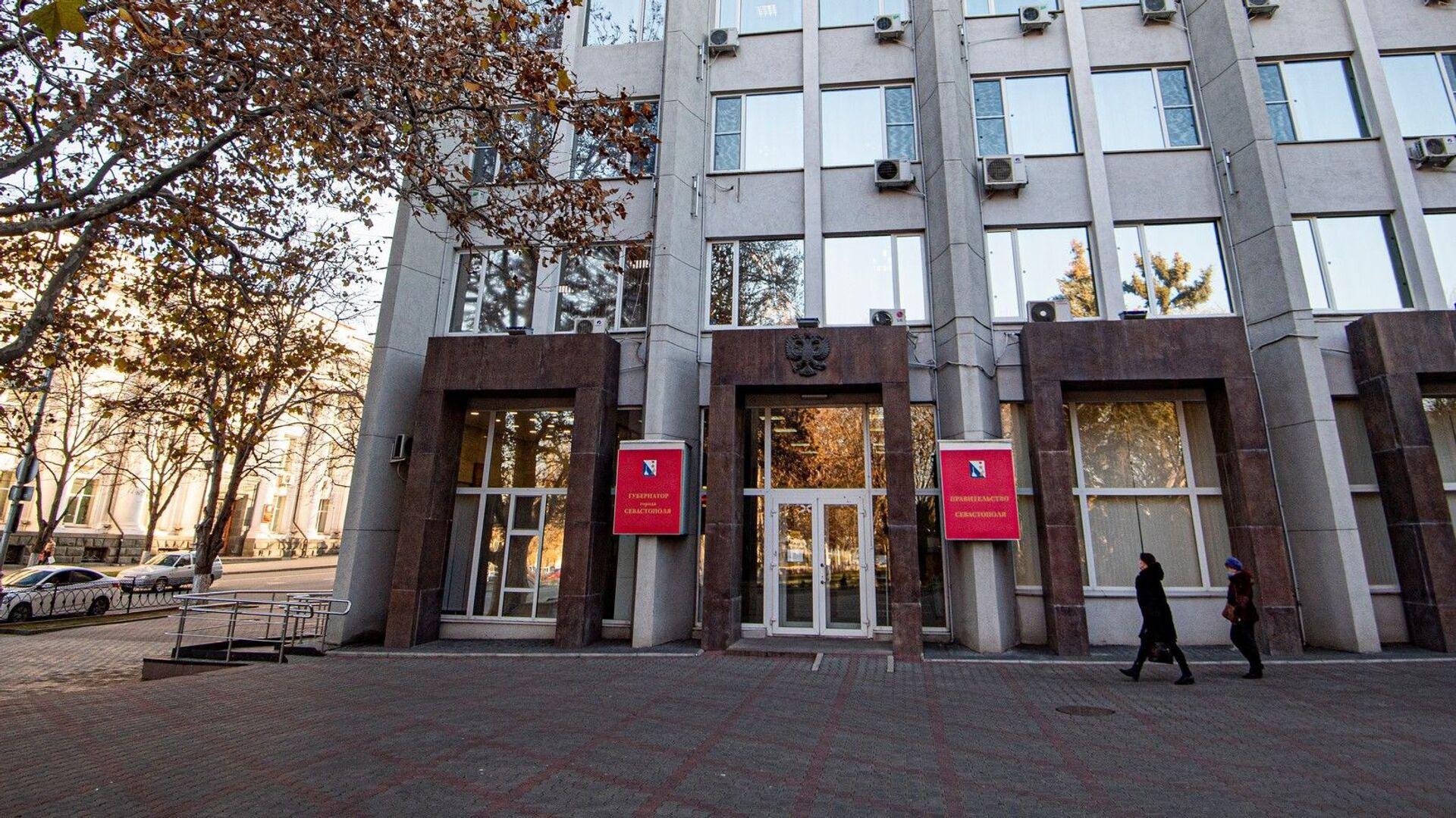 Здание правительства Севастополя  - РИА Новости, 1920, 22.06.2021
