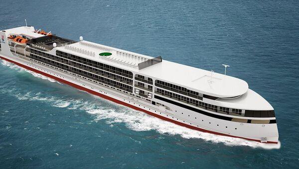 Круизное пассажирское судно проект PV300