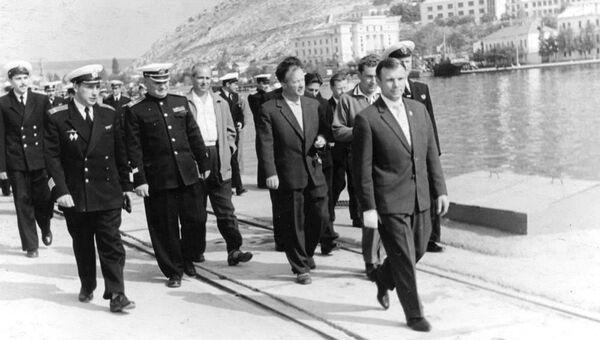 Осенью 1961 года в Крыму побывал Юрий Гагарин
