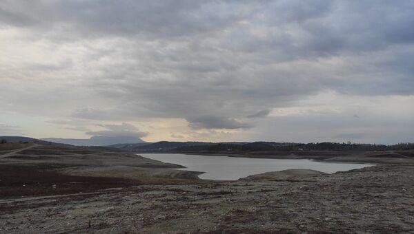 Засуха в Крыму. Симферопольское водохранилище