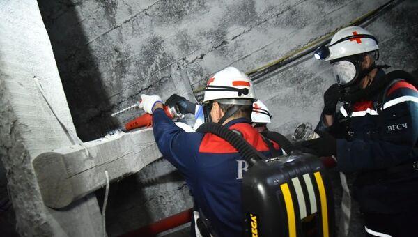Обвал в шахте золотого рудника на Камчатке