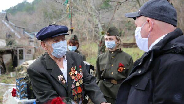 На Кубани чествовали 100-летнего освободителя Севастополя