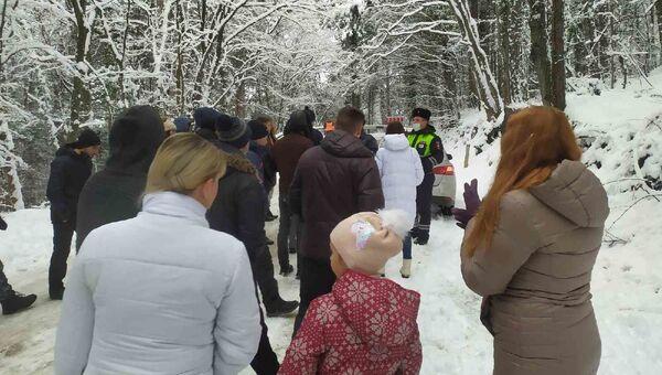 Дорога на Ай-Петри закрыта