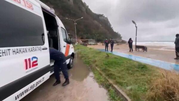 У берегов Турции затонул российский сухогруз
