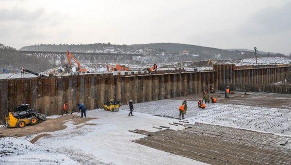 Строительство водозабора на реке Бельбек