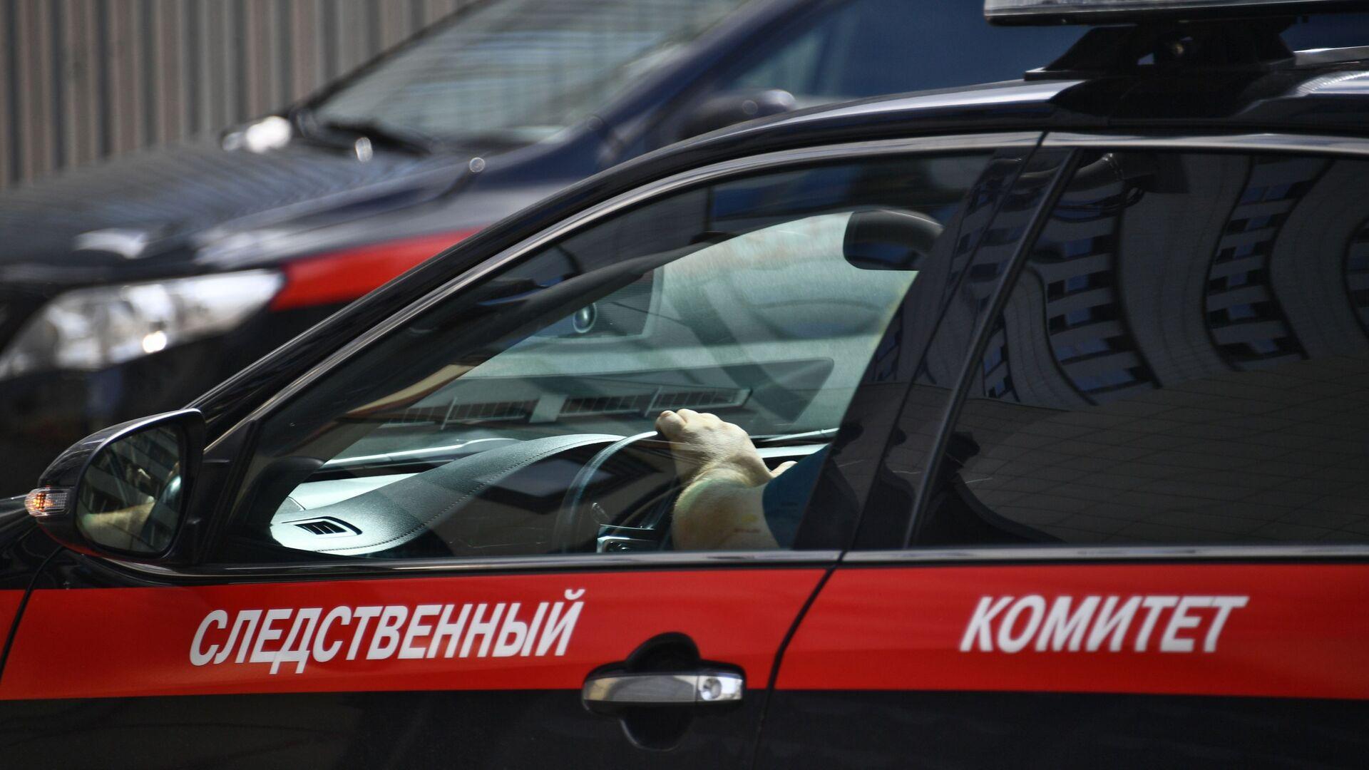 Автомобиль Следственного комитета РФ. - РИА Новости, 1920, 22.09.2021