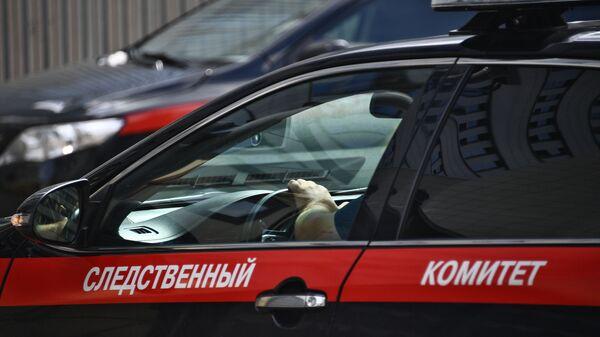 Автомобиль Следственного комитета РФ.