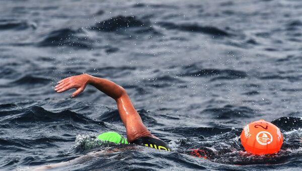 Массовый заплыв. Архивное фото