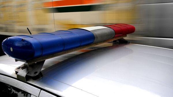 Автомобиль сотрудников полиции