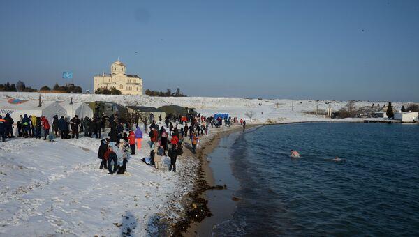 Крещение в Севастополе