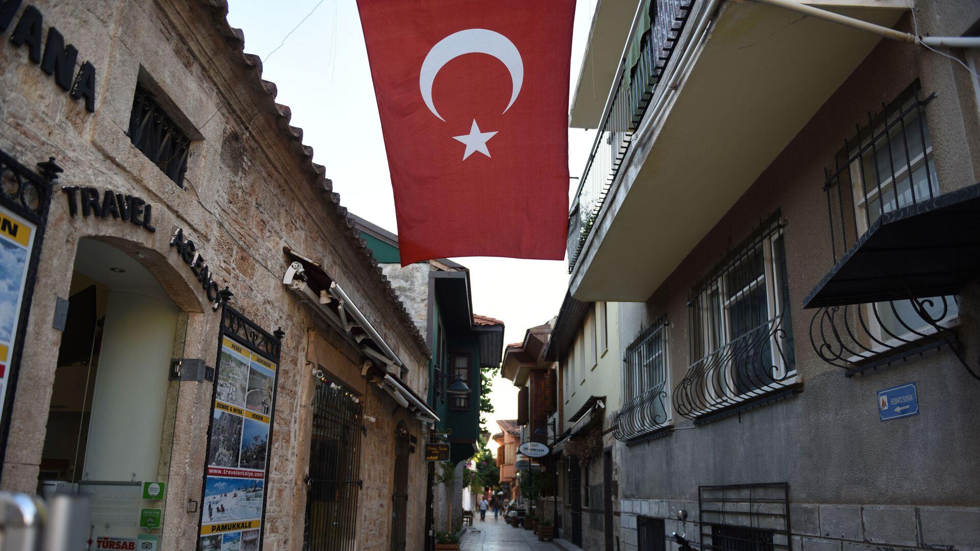 Флаг Турции - РИА Новости, 1920, 23.09.2021