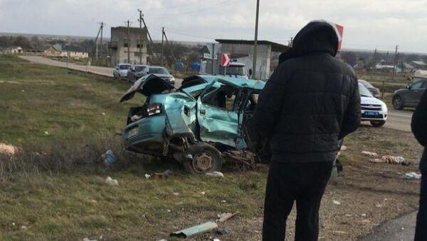 ДТП в селе Красносельское Черноморского района