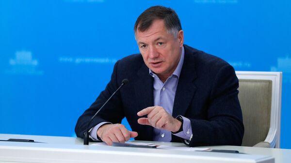 Брифинг заместителя председателя правительства РФ М. Хуснуллина